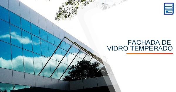 Fachada de Vidro Temperado Guarulhos São Paulo