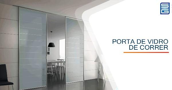 Porta de Vidro de Correr Guarulhos São Paulo